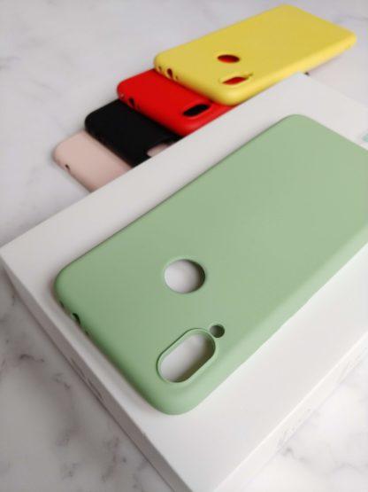 silikonowe etui redmi note 7 zielone